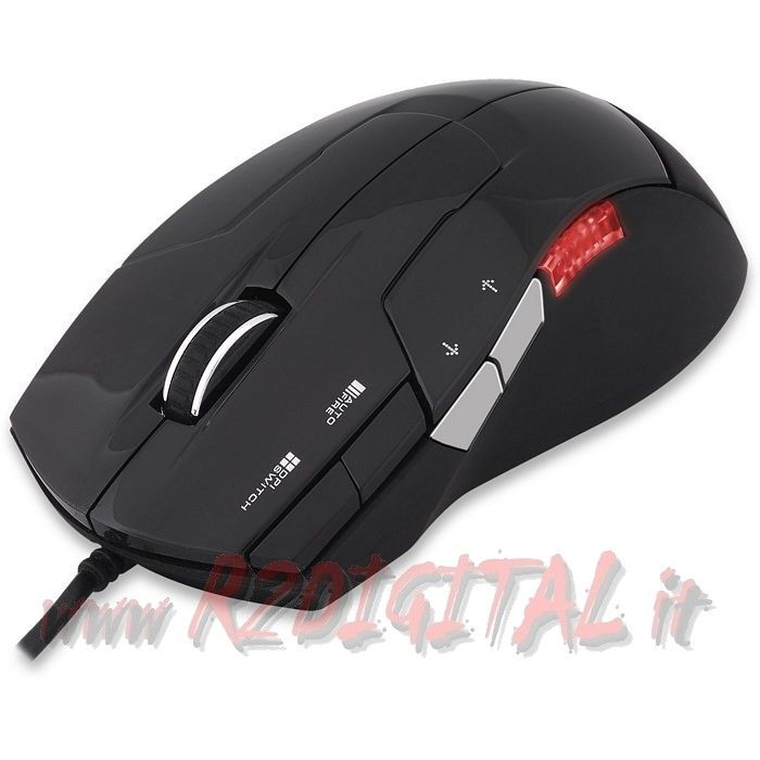 MOUSE GAMING ZALMAN ZM-M300 DA GIOCO 2500dpi REALI LED COLOR