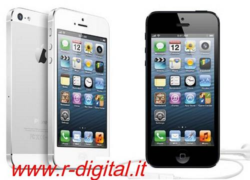 "TELEFONO CELLULARE APPLE IPHONE 5S 16GB IOS 4"" BIANCO o NERO ITA"