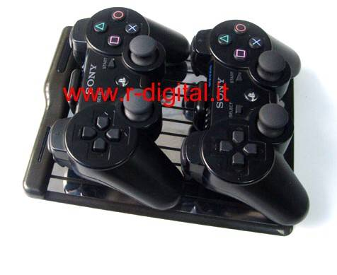 CARICATORE UNIVERSALE CHARGE STAND XBOX WII PS3 IPHONE NDS