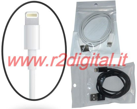 CAVO DATI APPLE IPHONE 5 IPAD MINI USB CARICA & SINCRONIZZA