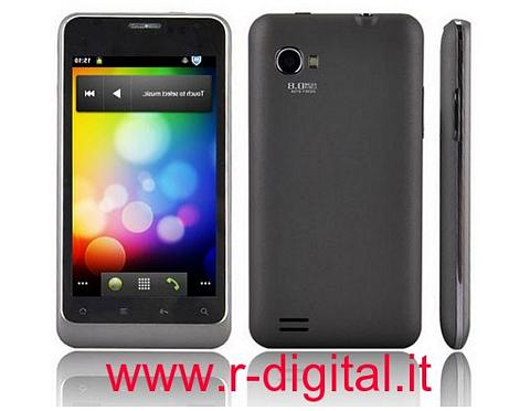 "TELEFONO CELLULARE B63 UMTS ANDROID 4.1"" CAPACITIVO WIFI GPS"