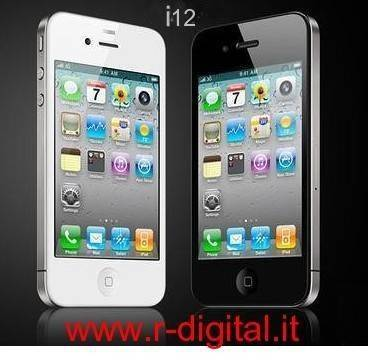 TELEFONO CELLULARE CECT I12 IPHONE 4 WIFI 4G DUAL SIM WIRELESS