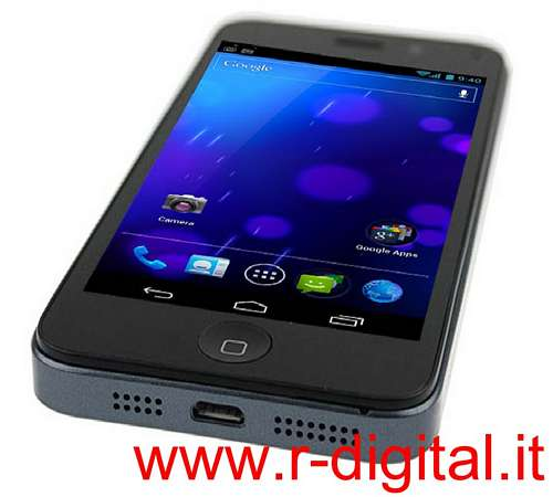 TELEFONO CELLULARE I5A ANDROID 4 CAPACITIVO IPHONE 5 UMTS