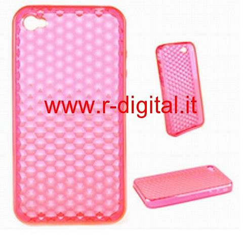 IPHONE APPLE 4G CUSTODIA SILICONE VARI COLORI