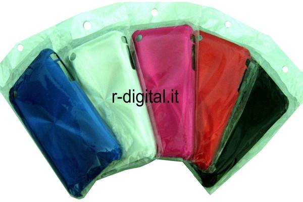IPHONE APPLE 3G & 3GS CUSTODIA ALLUMINIO VARI COLORI
