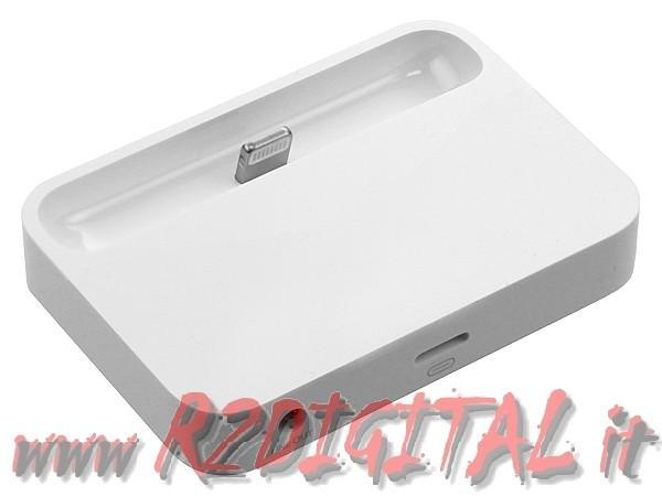 DOCKING STATION APPLE IPHONE 5 CARICA & SINCRONIZZA DATI