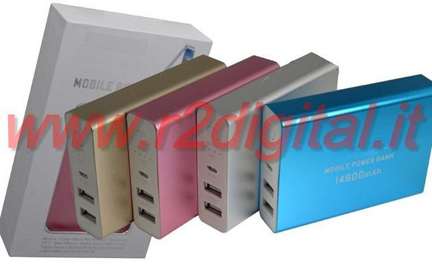 BATTERIA 14800 mah EMERGENZA POWER BANK IPAD IPHONE SAMSUNG
