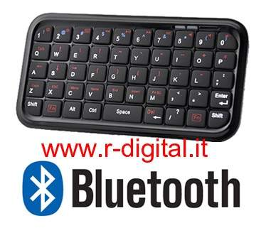 MINI TASTIERA BLUETOOTH IPHONE IPAD ANDROID WINDOWS NOKIA