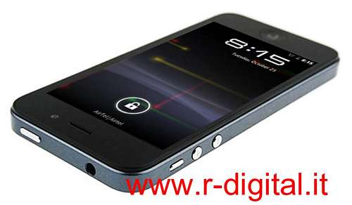 TELEFONO CELLULARE H2000+ ANDROID 4 CAPACITIVO IPHONE 5 GPS UMTS
