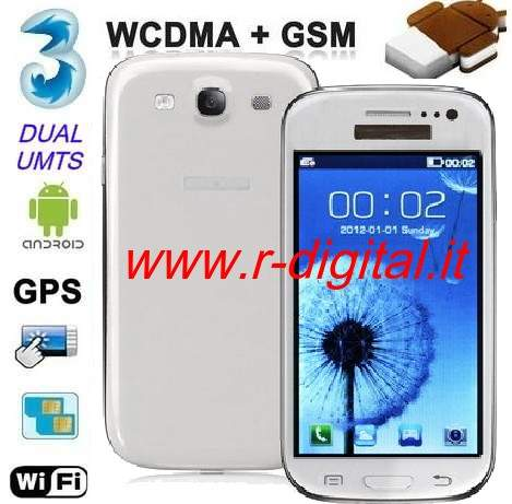 SMARTPHONE CECT I9300 ANDROID CAPACITIVO GALAXY S3 CELLULARE