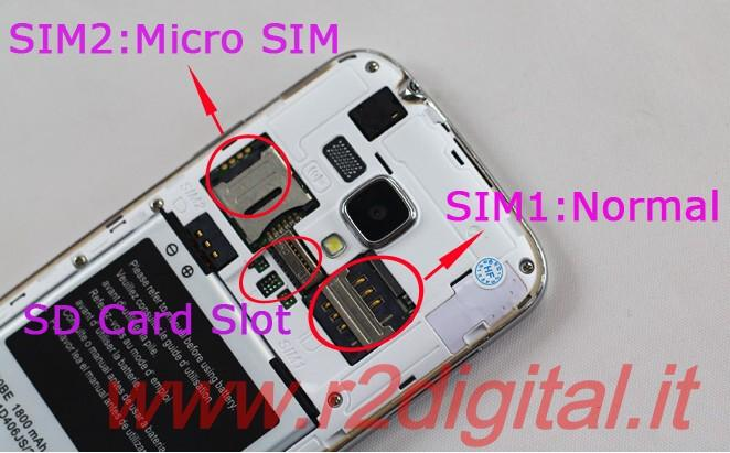 SMARTPHONE CECT S4 MINI ANDROID 4 CAPACITIVO GALAXY S4 CELLULARE