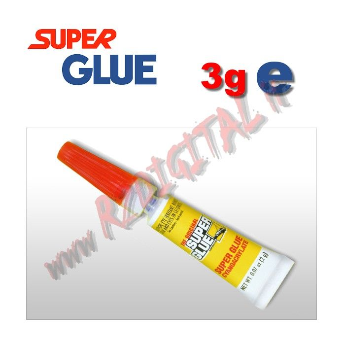 COLLA SUPER GLUE 3Pz ISTANTANEA DI PRECISIONE ATTAK TUBETTO BULK