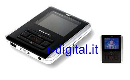LETTORE MP4 XX-MOOVEE2 8GB RADIO USB 1,8 POLLICI DISPLAY COLORI