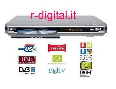 2in1 AXIL RT202 LETTORE DVD DIVX DIGITALE TERRESTRE DVB-T USB