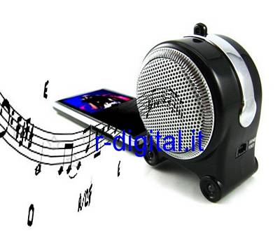CASSE MINI MAGNEX BATTERIA RICARICABILE ALTOPARLANTI MP3 MP4 PSP