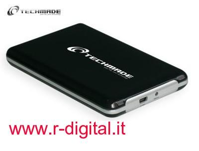 BOX ESTERNO SATA 2.5 TECHMADE EE2-U2S-3 USB HD HARD DISK CASE
