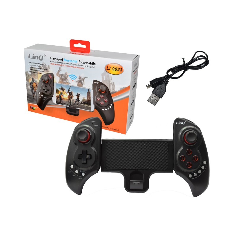 GAMEPAD BLUETOOTH WIRELESS PER SMARTPHONE LI-9023