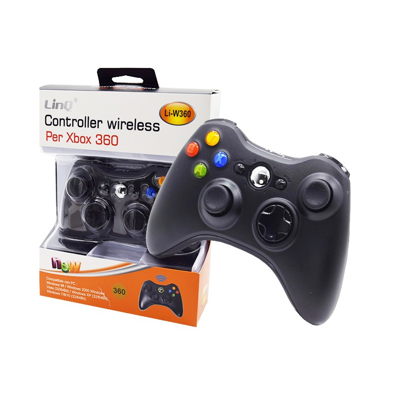 CONTROLLER WIRELESS PER XBOX 360 LI-W360