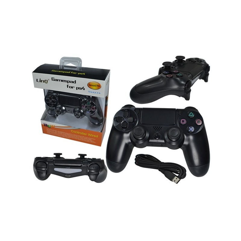 JOYPAD PER PS4 DUAL SHOCK WIRED GAMEPAD/PS4