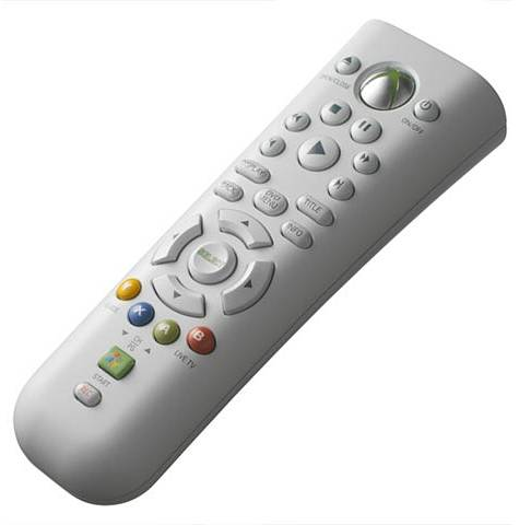TELECOMANDO PER XBOX 360 CONSOLE MICROSOFT DVD MEDIA CENTER