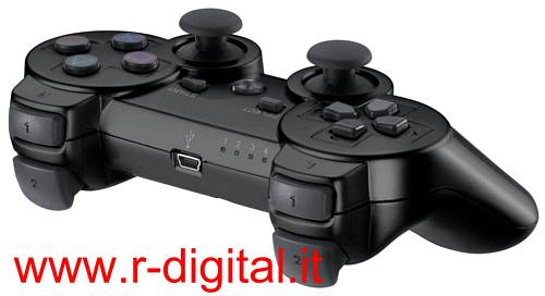 CONTROLLER PC PS2 PS3 WIRELESS PLAYSTATION 3 SIXAXIS BLUETOOTH