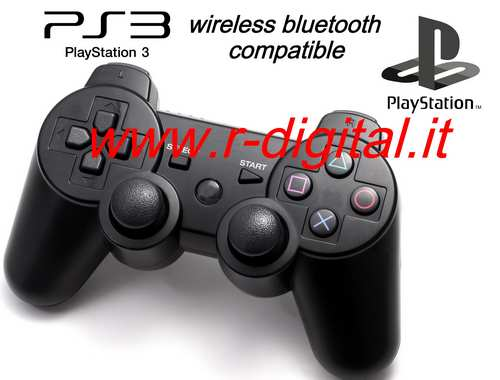 JOYPAD SIXAXIS PS3 WIFI WIRELESS 2.4G CONTROLLER 3 USB PS - Clicca l'immagine per chiudere