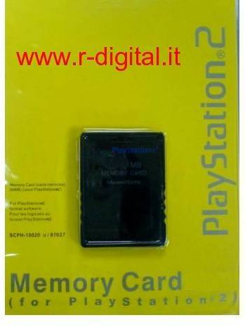 MEMORY CARD 32 Mb PS2 PLAYSTATION 2 SONY MEMORIA 32MB PS SLIM