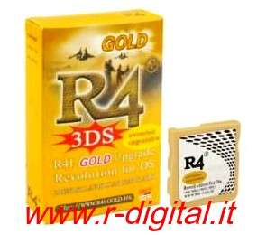 CARTUCCIA ADATTATORE R4i new GOLD WIFI NINTENDO 3DS DS DSi XL R4