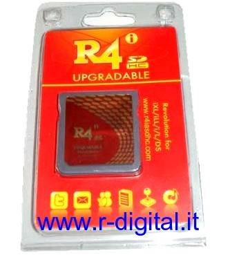CARTUCCIA ADATTATORE R4i V1.4.1 UPGRADABLE NINTENDO iXL iLL WIFI