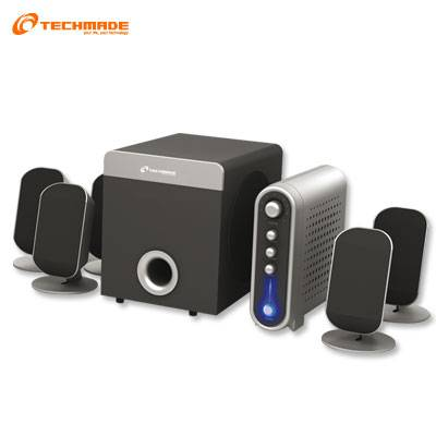 CASSE TECHMADE 5.1 TM-S51354 DOLBY SURROUND HOME TEATRE PC