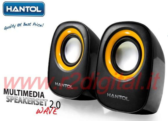 CASSE HANTOL STEREO ALTOPARLANTI DOLBY VIRTUAL HOME PC NOTEBOOK