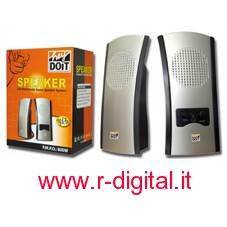 CASSE HEYDOIT PC ALTOPARLANTI COMPUTER AUDIO 2.0 800W CD MP3 MP4