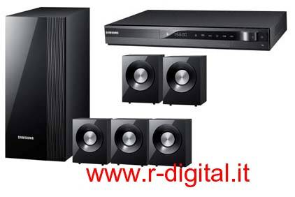 CASSE SAMSUNG 5.1 HT-C330 DOLBY SURROUND DVD 330W HOME THEATER