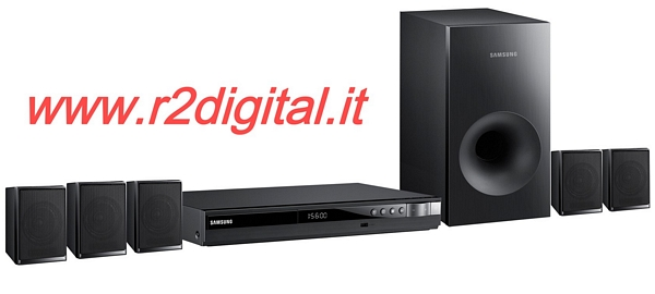 CASSE SAMSUNG 5.1 E330 DOLBY SURROUND USB DVD 330W HOME THEATER
