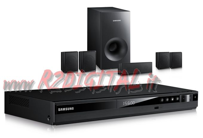 CASSE SAMSUNG 5.1 E350 DOLBY SURROUND USB DVD 330W HOME THEATER
