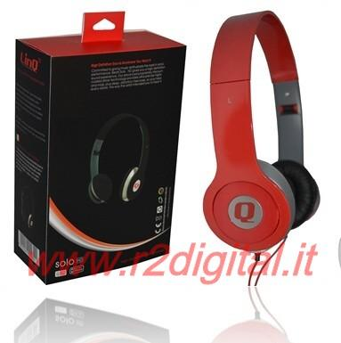 CUFFIE M PROFESSIONALI per DJ HI-FI PC GAME MP4 STEREO JACK 3,5