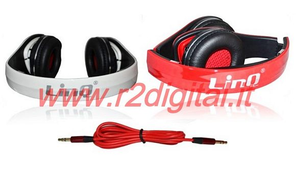 CUFFIE Q PROFESSIONALI per DJ HI-FI PC GAME MP4 STEREO JACK 3,5