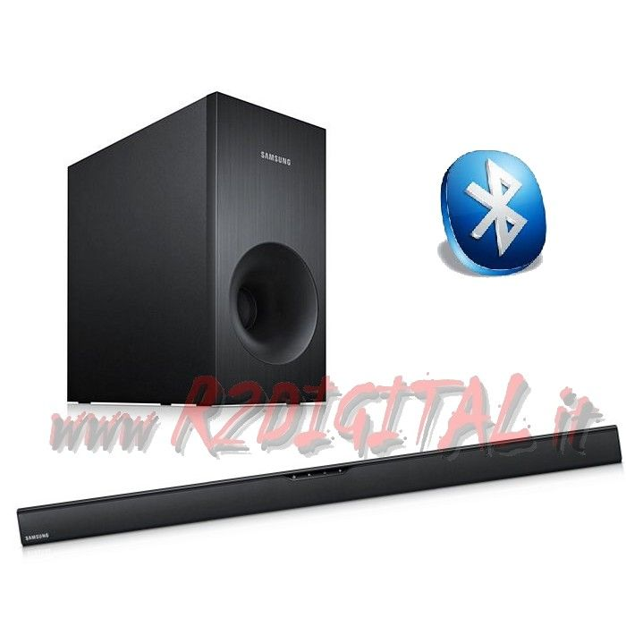 SOUNDBAR SAMSUNG 2.1 BLUETOOTH CASSE + SUB 120W DOLBY SURROUND