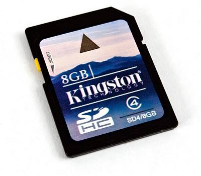 SD SECURE DIGITAL KINGSTON 8GB TRANSFLASH CLASS 4 SCHEDA MEMORIA