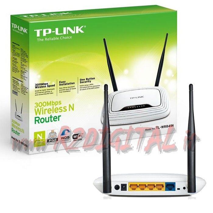 ACCESS POINT TP-LINK TL-WR841N WIRELESS N ROUTER 300Mbp LAN WIFI