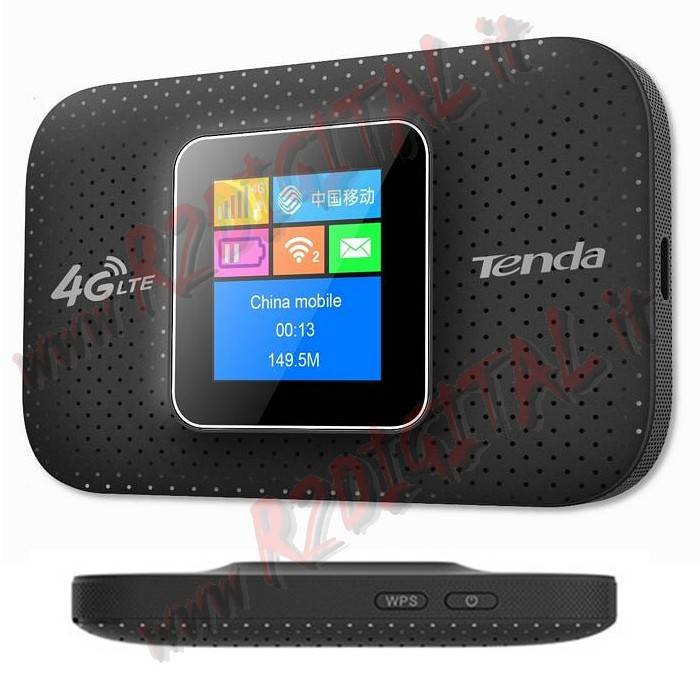 MODEM 4G TENDA 4G185 DISPLAY HOTSPOT SIM INTERNET WIRELESS N300