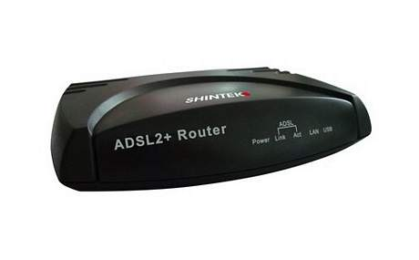 ROUTER SHINTEK FMR32197 MODEM ADSL LAN USB EMULE TORRENT