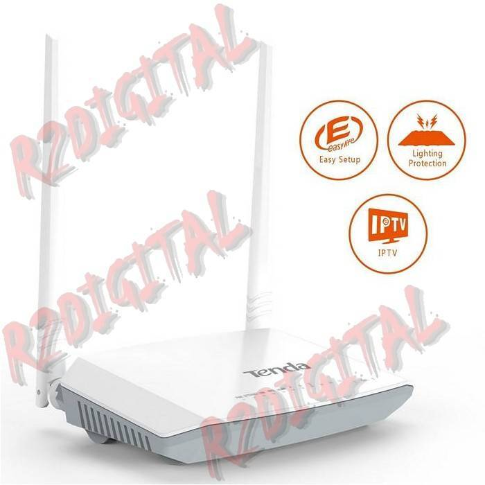 ROUTER MODEM TENDA FIBRA V300 VDSL UNIVERSALE ACCES POINT ADSL