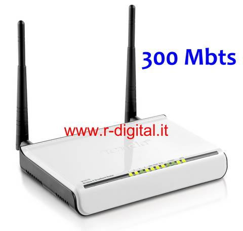 ACCESS POINT TENDA W308R WIRELESS 300M N LAN WAN WIFI ROUTER