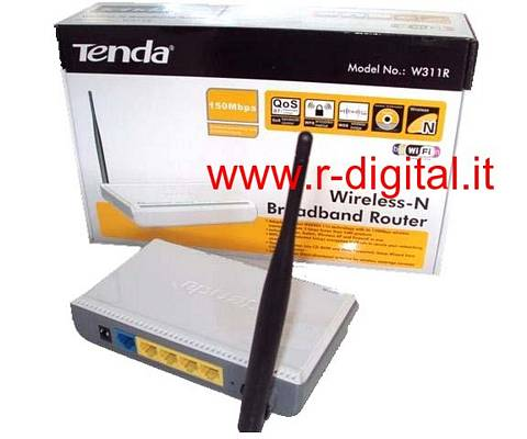 ACCESS POINT TENDA W316R WIRELESS 150M N LAN WAN WIFI ROUTER