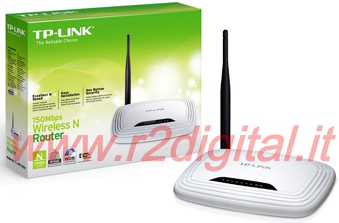 ACCESS POINT WIRELESS TP-LINK TL-WR741ND LITE N 150M WIFI ROUTER