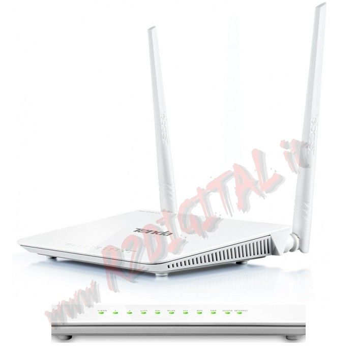 ROUTER TENDA D301 WIRELESS N MODEM 300Mbps LAN ADSL WIFI