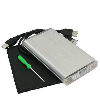 "BOX ESTERNO SATA & IDE 2.5 LINQ USB HD HARD DISK 2,5"" CASE"