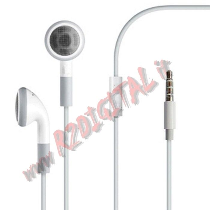AURICOLARI STEREO JACK 3,5 CUFFIE IPHONE IPOD MP3 PC MP4 MAC