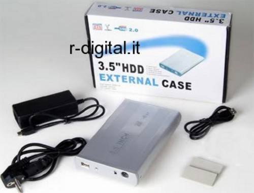 "BOX ESTERNO IDE 3.5 LINQ USB HD HARD DISK 3.5"" CASE PATA ATA"